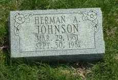 JOHNSON, HERMAN A. - Ross County, Ohio | HERMAN A. JOHNSON - Ohio Gravestone Photos