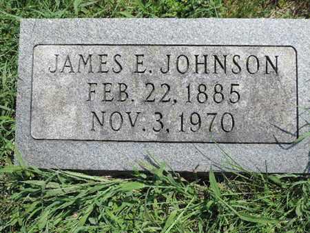 JOHNSON, JAMES E. - Ross County, Ohio | JAMES E. JOHNSON - Ohio Gravestone Photos