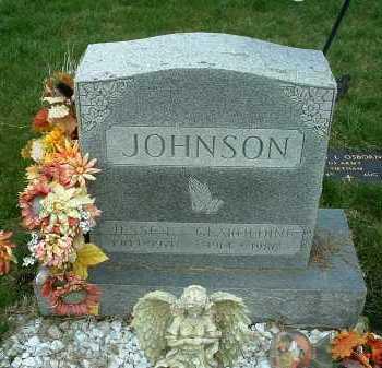 JOHNSON, GEAROLDINE - Ross County, Ohio | GEAROLDINE JOHNSON - Ohio Gravestone Photos