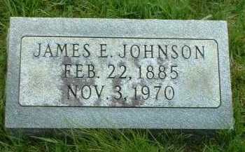 JOHNSON, JAMES E. - Ross County, Ohio | JAMES E. JOHNSON - Ohio Gravestone Photos