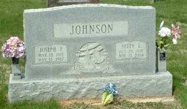 JOHNSON, JOSEPH F. - Ross County, Ohio | JOSEPH F. JOHNSON - Ohio Gravestone Photos