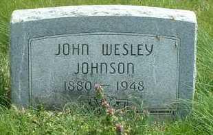 JOHNSON, JOHN WESLEY - Ross County, Ohio | JOHN WESLEY JOHNSON - Ohio Gravestone Photos