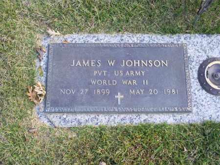 JOHNSON, JAMES W. - Ross County, Ohio | JAMES W. JOHNSON - Ohio Gravestone Photos
