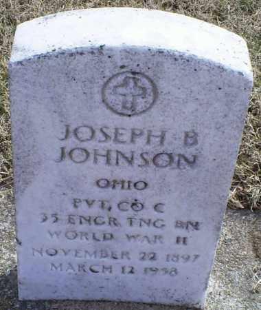 JOHNSON, JOSEPH B. - Ross County, Ohio | JOSEPH B. JOHNSON - Ohio Gravestone Photos
