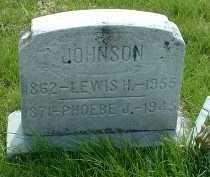 JOHNSON, LEWIS H. - Ross County, Ohio | LEWIS H. JOHNSON - Ohio Gravestone Photos