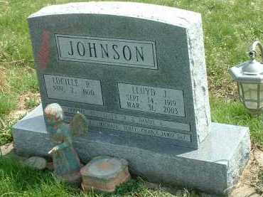 JOHNSON, LLOYD J. - Ross County, Ohio | LLOYD J. JOHNSON - Ohio Gravestone Photos