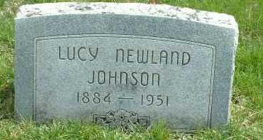 JOHNSON, LUCY - Ross County, Ohio | LUCY JOHNSON - Ohio Gravestone Photos