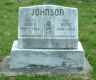 JOHNSON, LEWIS - Ross County, Ohio | LEWIS JOHNSON - Ohio Gravestone Photos