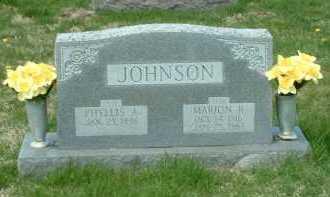 JOHNSON, MARION R. - Ross County, Ohio | MARION R. JOHNSON - Ohio Gravestone Photos