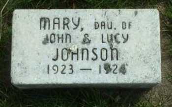 JOHNSON, MARY - Ross County, Ohio | MARY JOHNSON - Ohio Gravestone Photos