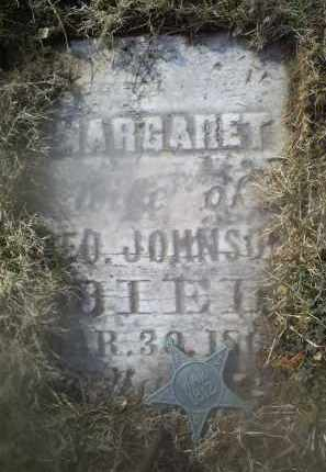 JOHNSON, MARGARET - Ross County, Ohio | MARGARET JOHNSON - Ohio Gravestone Photos