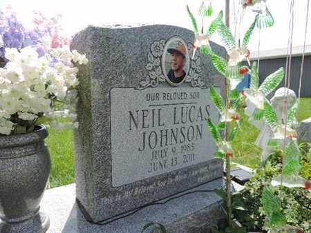 JOHNSON, NEIL LUCAS - Ross County, Ohio   NEIL LUCAS JOHNSON - Ohio Gravestone Photos