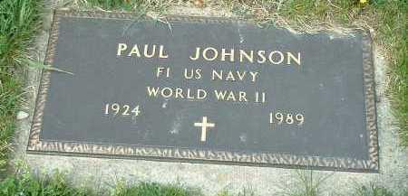 JOHNSON, PAUL - Ross County, Ohio | PAUL JOHNSON - Ohio Gravestone Photos