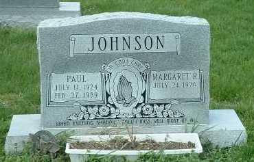 JOHNSON, MARGARET R. - Ross County, Ohio | MARGARET R. JOHNSON - Ohio Gravestone Photos