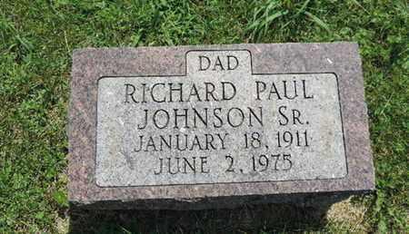JOHNSON, RICHARD PAUL - Ross County, Ohio   RICHARD PAUL JOHNSON - Ohio Gravestone Photos