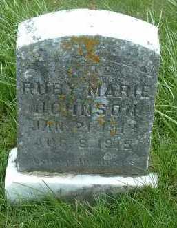 JOHNSON, RUBY MARIE - Ross County, Ohio | RUBY MARIE JOHNSON - Ohio Gravestone Photos
