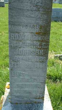 JOHNSON, ROY M - Ross County, Ohio | ROY M JOHNSON - Ohio Gravestone Photos