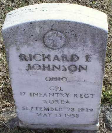 JOHNSON, RICHARD E. - Ross County, Ohio   RICHARD E. JOHNSON - Ohio Gravestone Photos