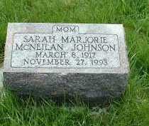 JOHNSON, SARAH MARJORIE - Ross County, Ohio | SARAH MARJORIE JOHNSON - Ohio Gravestone Photos