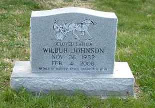 JOHNSON, WILBUR - Ross County, Ohio | WILBUR JOHNSON - Ohio Gravestone Photos