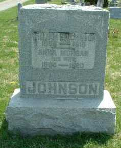 MORGAN JOHNSON, ANNA - Ross County, Ohio | ANNA MORGAN JOHNSON - Ohio Gravestone Photos