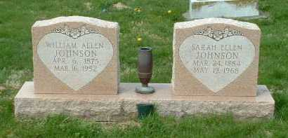 JOHNSON, WILLIAM ALLEN - Ross County, Ohio | WILLIAM ALLEN JOHNSON - Ohio Gravestone Photos