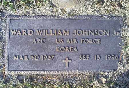 JOHNSON, WARD WILLIAM JR. - Ross County, Ohio   WARD WILLIAM JR. JOHNSON - Ohio Gravestone Photos