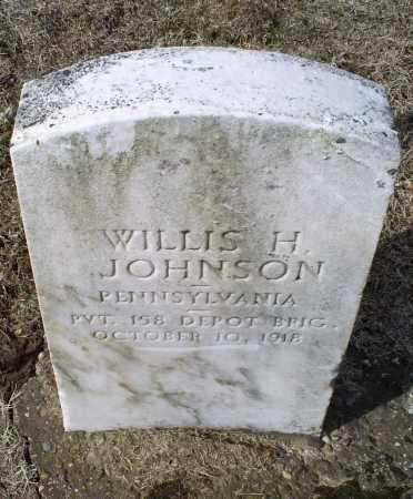 JOHNSON, WILLIS H. - Ross County, Ohio   WILLIS H. JOHNSON - Ohio Gravestone Photos