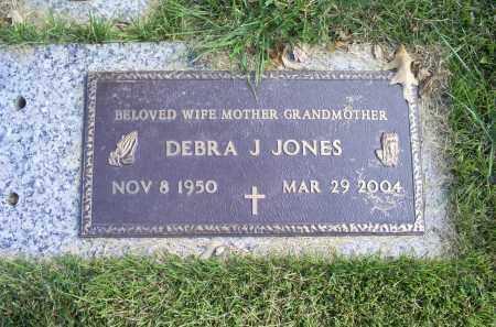 JONES, DEBRA J. - Ross County, Ohio | DEBRA J. JONES - Ohio Gravestone Photos