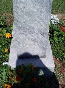 JONES, EVELYN - Ross County, Ohio   EVELYN JONES - Ohio Gravestone Photos
