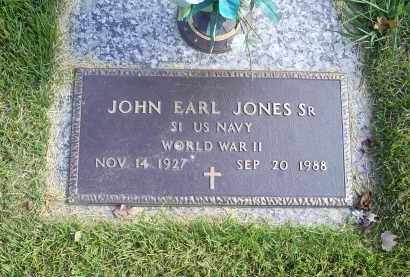 JONES, JOHN EARL - Ross County, Ohio | JOHN EARL JONES - Ohio Gravestone Photos