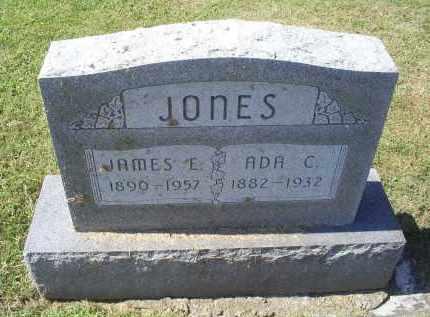 JONES, JAMES E. - Ross County, Ohio   JAMES E. JONES - Ohio Gravestone Photos