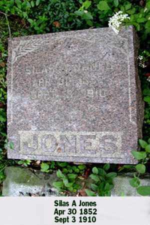 JONES, SILAS A - Ross County, Ohio | SILAS A JONES - Ohio Gravestone Photos