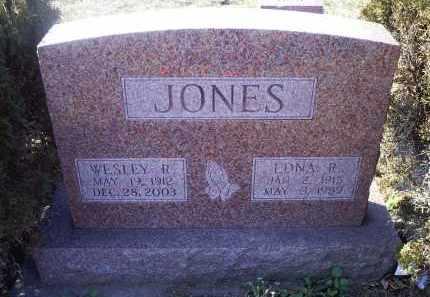 JONES, EDNA R. - Ross County, Ohio | EDNA R. JONES - Ohio Gravestone Photos