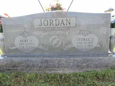 JORDAN, GEORGE D. - Ross County, Ohio | GEORGE D. JORDAN - Ohio Gravestone Photos
