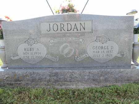 JORDAN, RUBY A - Ross County, Ohio | RUBY A JORDAN - Ohio Gravestone Photos