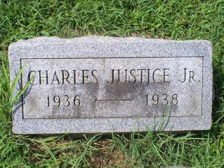 JUSTICE, CHARLES JR. - Ross County, Ohio | CHARLES JR. JUSTICE - Ohio Gravestone Photos