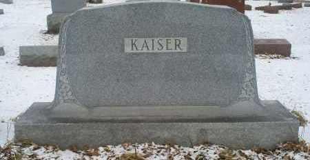 KAISER, MONUMENT - Ross County, Ohio   MONUMENT KAISER - Ohio Gravestone Photos
