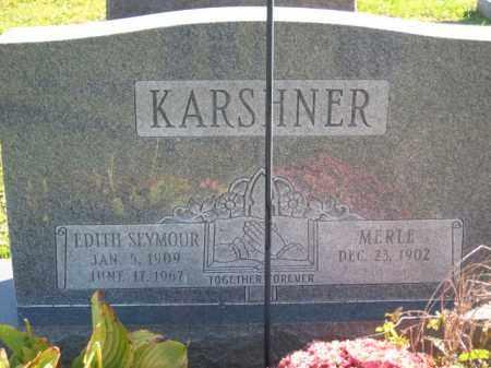 KARSHNER, EDITH H. - Ross County, Ohio   EDITH H. KARSHNER - Ohio Gravestone Photos
