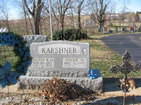 KARSHNER, NELSON W - Ross County, Ohio | NELSON W KARSHNER - Ohio Gravestone Photos
