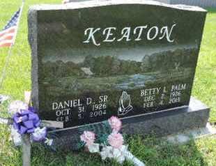 PALM KEATON, BETTY L - Ross County, Ohio | BETTY L PALM KEATON - Ohio Gravestone Photos