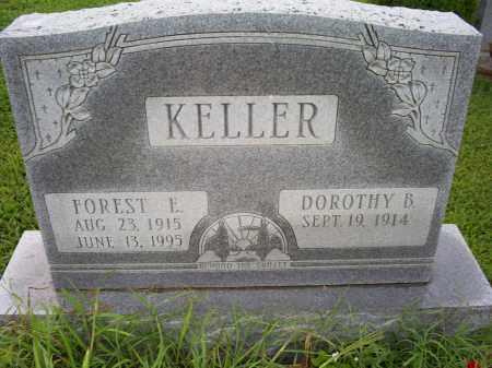 KELLER, FOREST E. - Ross County, Ohio | FOREST E. KELLER - Ohio Gravestone Photos