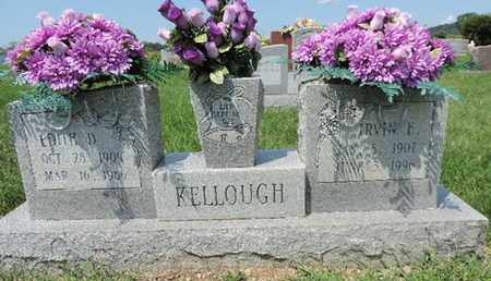 KELLOUGH, IRVIN E - Ross County, Ohio | IRVIN E KELLOUGH - Ohio Gravestone Photos