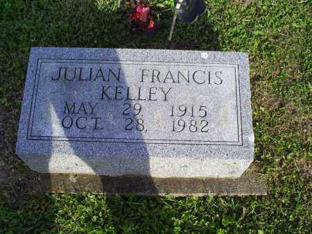 KELLY, JULIAN FRANCIS - Ross County, Ohio   JULIAN FRANCIS KELLY - Ohio Gravestone Photos