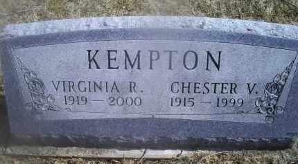 KEMPTON, CHESTER V. - Ross County, Ohio | CHESTER V. KEMPTON - Ohio Gravestone Photos