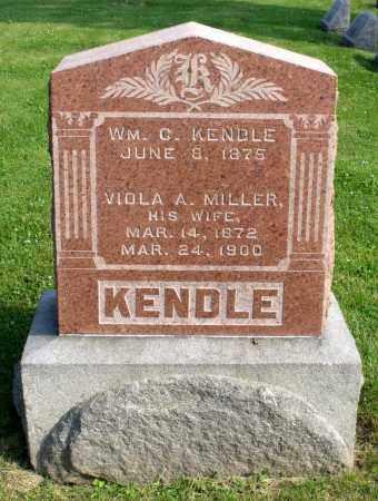MILLER KENDLE, VIOLA A. - Ross County, Ohio | VIOLA A. MILLER KENDLE - Ohio Gravestone Photos