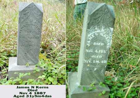 KERNS, JAMES N - Ross County, Ohio | JAMES N KERNS - Ohio Gravestone Photos