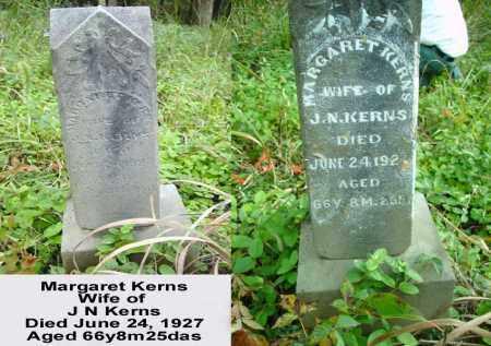 KERNS, MARGARET - Ross County, Ohio   MARGARET KERNS - Ohio Gravestone Photos