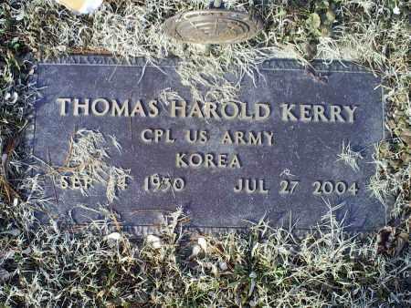 KERRY, THOMAS HAROLD - Ross County, Ohio   THOMAS HAROLD KERRY - Ohio Gravestone Photos