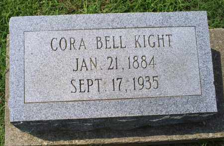 KIGHT, CORA BELL - Ross County, Ohio | CORA BELL KIGHT - Ohio Gravestone Photos